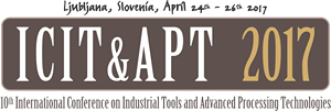 ICIT&APT 2017 Industrial Conference on Industrial Tools and Advanced Processing Technologies